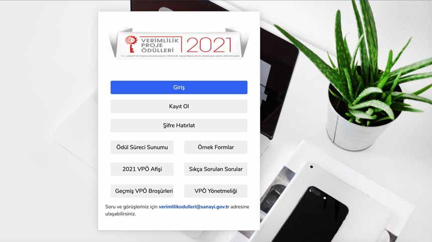 2021 Yılı Verimlilik Proje Ödülleri